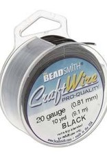 40 YD 28GA Craft Wire : Black