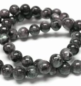 "Black Labradorite : 6mm Round 15.5"" Strand"