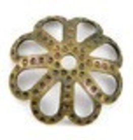 25 PC ABP 10mm Filigree Bead Cap