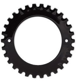 1 PC BLK 40mm 2 Hole Gear fits 27mm Rivoli