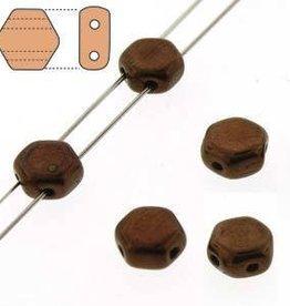 30 PC 6mm Honeycomb : Jet Bronze
