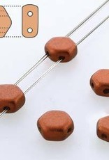30 PC 6mm Honeycomb : Bronze Fire Red