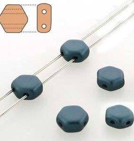 30 PC 6mm Honeycomb : Pastel Petrol