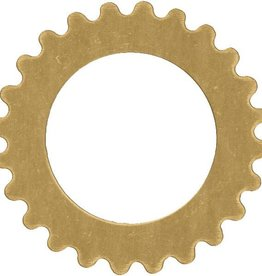 1 PC Brass 25mm Open Gear fits 18mm Rivoli