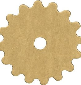 1 PC Brass 16mm Gear