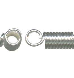 12 PC ASP 4x11mm Coil Cord End ID 2.65mm