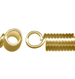 12 PC GP 4x11mm Coil Cord End ID 2.65mm