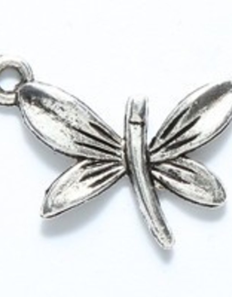 1 PC ASP 20x14mm Dragonfly Charm