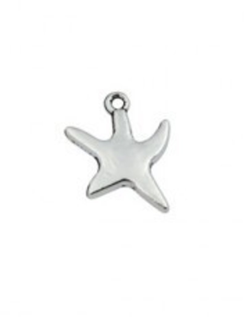 1 PC ASP 18x13mm Starfish Charm