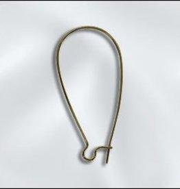 8 PC ABP 36x18mm Kidney Ear Wire