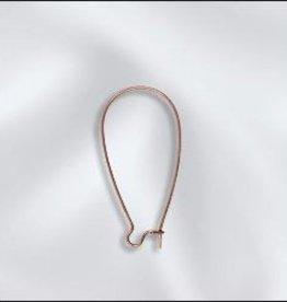 8 PC ACP 36x18mm Kidney Ear Wire