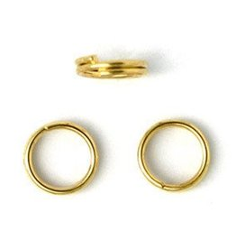 50 PC GP 6mm Split Ring