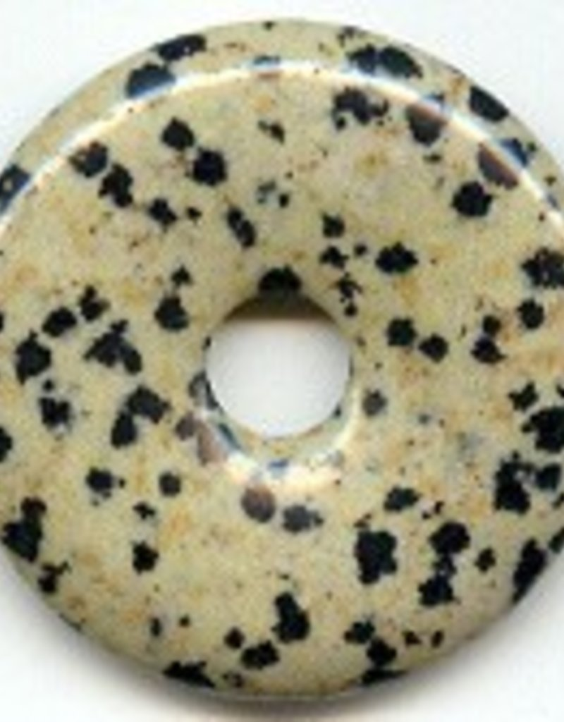 1 PC 40mm Dalmation Jasper Donut