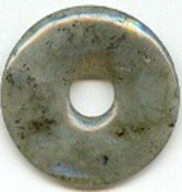 1 PC 30mm Labradorite Donut