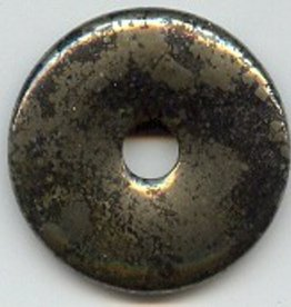 1 PC 40mm Pyrite Donut