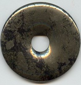 1 PC 50mm Pyrite Donut