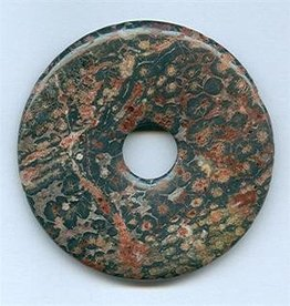 1 PC 50mm Leopardskin Donut