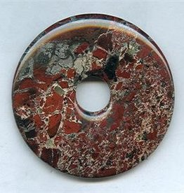 1 PC 50mm Poppy Jasper Donut