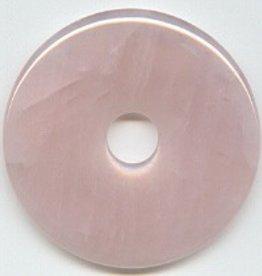 1 PC 50mm Rose Quartz Donut