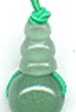 1 PC 10mm 3 Hole Aventurine Guru/Mala Bead