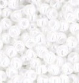 9 GM Toho Round 11/0 : Opaque-Lustered White