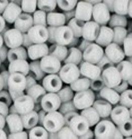 9 GM Toho Round 11/0  : Opaque Gray