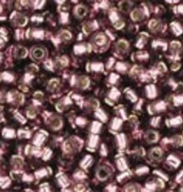 9 GM Toho Round 15/0  : Silver-Lined Med Amethyst