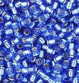 9 GM Toho Round 15/0 : Silver-Lined Sapphire