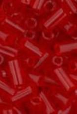 7 GM Toho Bugle #1 3mm  : Transparent Siam Ruby (APX 600 PCS)