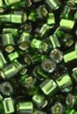8 GM Toho Cube 1.5mm : Silver-Lined Olivine  (APX 850 PCS)