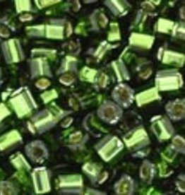8 GM Toho Cube 1.5mm : Silver-Lined Olivine  (APX 850 PCS)