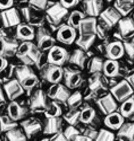 8 GM Toho Cube 1.5mm : Nickel (APX 850 PCS)