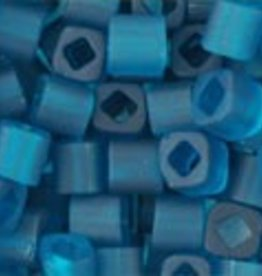8 GM Toho Cube 3mm : Transparent-Frosted Teal (APX 150 PCS)