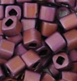 DISC 8 GM Toho Cube 3mm : Matte-Color Mauve Mocha (APX 150 PCS)