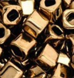 8 GM Toho Cube 4mm : Bronze (APX 75 PCS)
