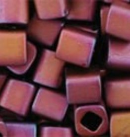 8 GM Toho Cube 4mm : Matte-Color Mauve Mocha (APX 75 PCS)