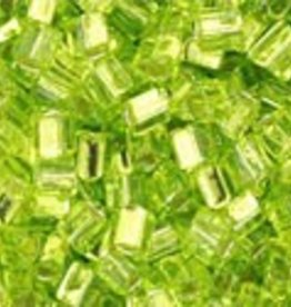 8 GM Toho Triangle 11/0 : Silver-Lined Lime Green (APX 550 PCS)