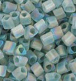 8 GM Toho Triangle 11/0 : Trans-Rainbow-Frosted Gray (APX 550 PCS)