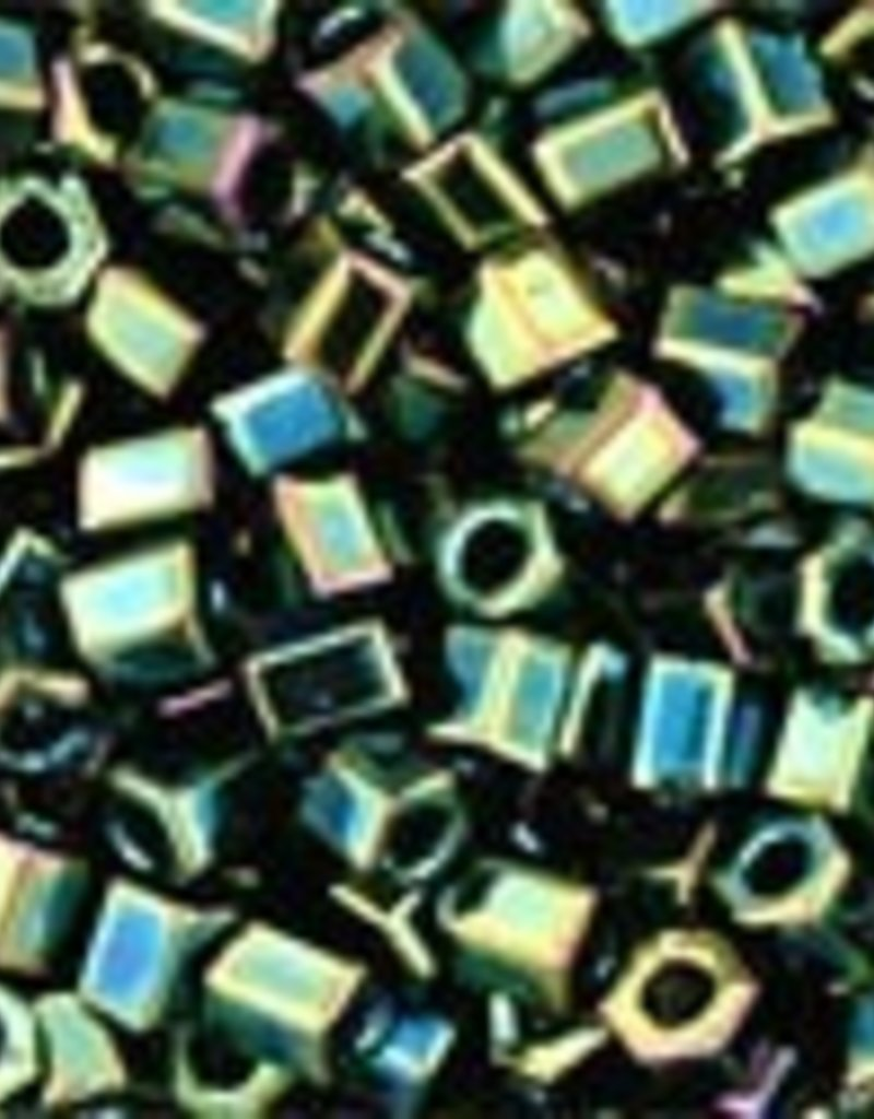 8 GM Toho Hex 11/0 : Metallic Iris Green/Brown (APX 700 PCS)