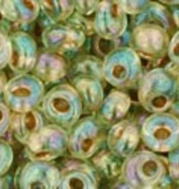 8 GM Toho Magatama 3mm : Gold-Lined Rainbow Lt Jonquil (APX 240 PCS)