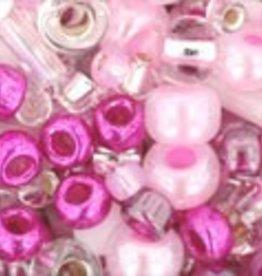 8 GM Toho Multi-Shape/Color Mix : Sakura- Cherry Mix