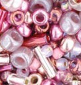 8 GM Toho Multi-Shape/Color Mix : Hime- Pink Mix