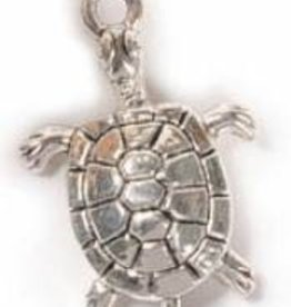 2 PC ASP 27x18mm Turtle Charm