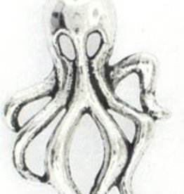 2 PC ASP 32x18mm Octopus Charm