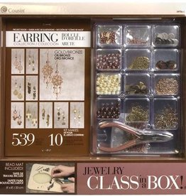Gold & Bronze Earring Class In a Box Kit