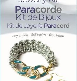 Chain Knot Bracelet Paracord Jewelry Kit