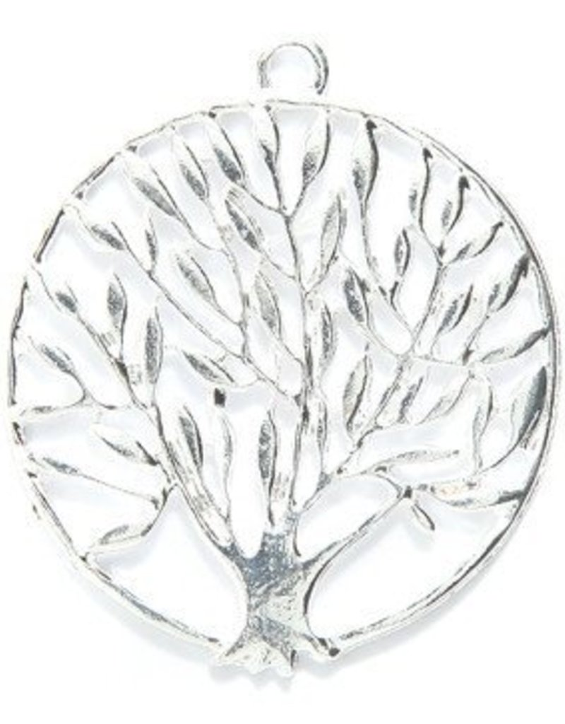 1 PC SP 37mm Tree of Life Pendant
