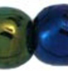100 PC 4mm Round : Green Iris
