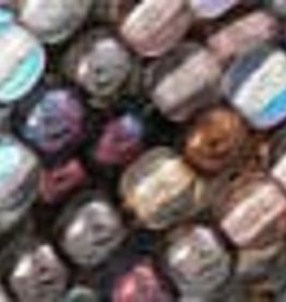100 PC 4mm Round : Luster Mix