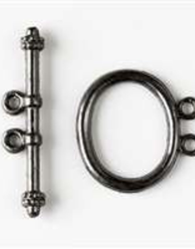 2 Set GMP 21mm Oval 2 Hole Toggle Clasp